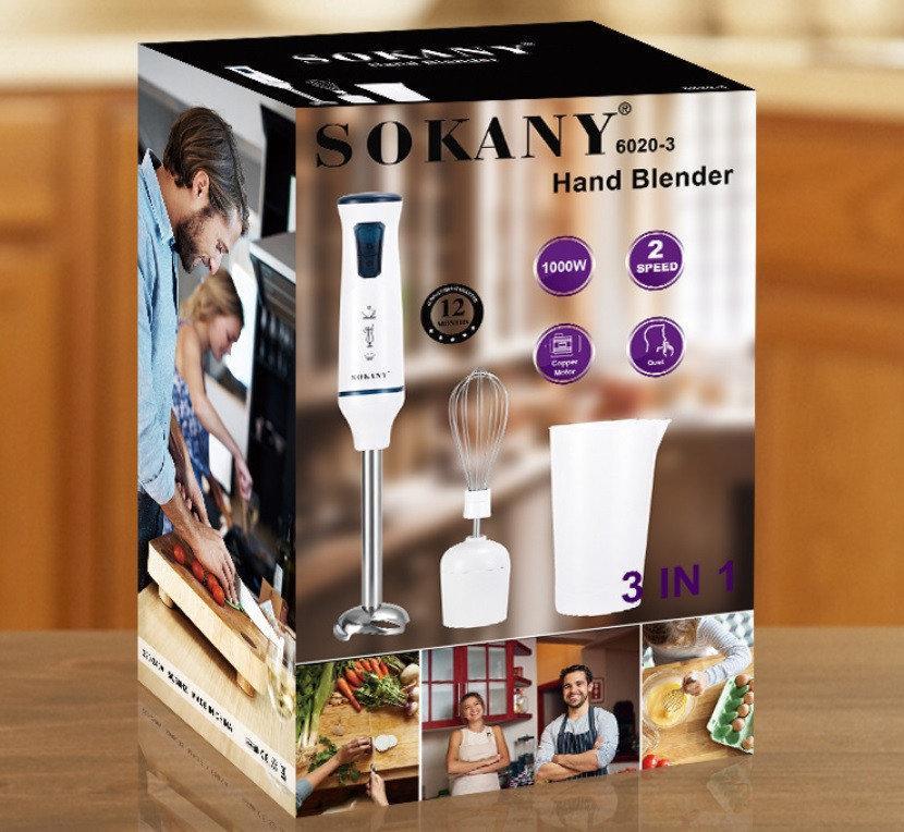 Блендер Sokany 6020-3 1000 Ватт