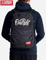 Спортивный городской рюкзак ONE EIGHT 30L черный (рюкзаки молодежные, велосипедный рюкзак, рюкзаки городские)