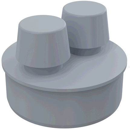 Вентиляційний клапан d110, фото 2