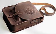 Кожаная сумка-планшет для документов, большая сумка темно-коричневого цвета, формат А4