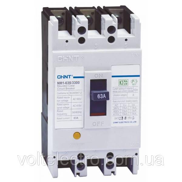 Авт. вимикач NM1-63H/3300 25A