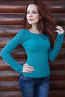 Женский свитер маст хэв, 42-46, волна
