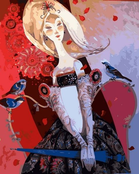 Картины по номерам 40×50 см. Пусти меня в свой чудный мир Художник Дэвид Галчутт