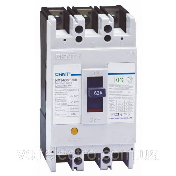 Авт. вимикач NM1-250H/3300 100A