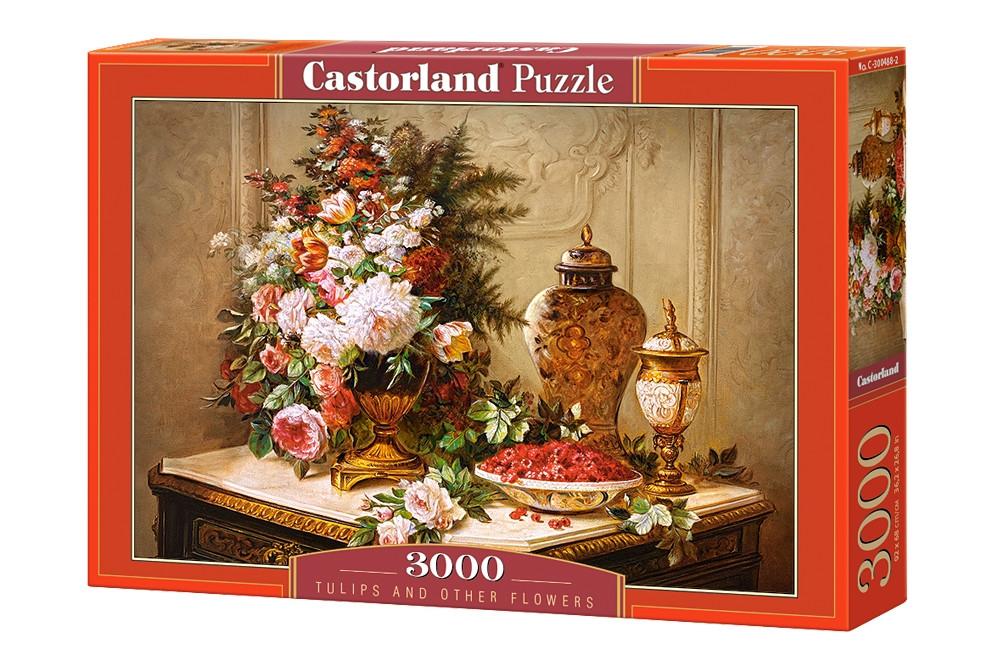 Пазлы Castorland Большой букет 3000 элементов