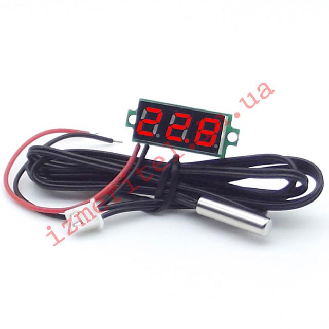 Миниатюрный цифровой термометр -50...+125 °С
