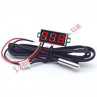 Миниатюрный цифровой термометр -50...+125 °С, фото 1