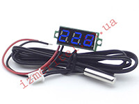 Электронный цифровой термометр с выносным датчиком -50...+125 °С