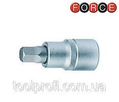 "1/2"" Головка-біта 5-гранна 10 мм (гальмівна система girling) (FORCE 65001)"