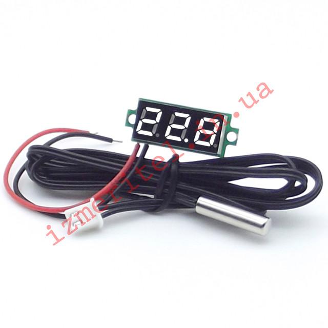 Цифровой термометр с выносным датчиком -50...+125 °С