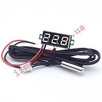 Цифровой термометр с выносным датчиком -50...+125 °С, фото 1