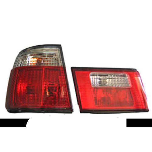 Фары-стоп BMW 5-E34 (88-94)  (crystal)) (2шт)