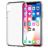 Чехол Ou Case для iPhone XR Unique Skid Silicone, Transparent, фото 1