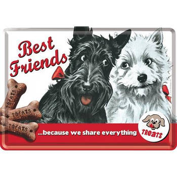 Открытка Nostalgic-Art Best Friends (10105)