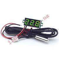 Встраиваемый цифровой термометр с выносным датчиком -50...+125 °С, фото 1