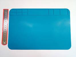 Коврик для пайки силиконовый термоковрик 509 300мм x 200мм мат для разборки и пайки электроники