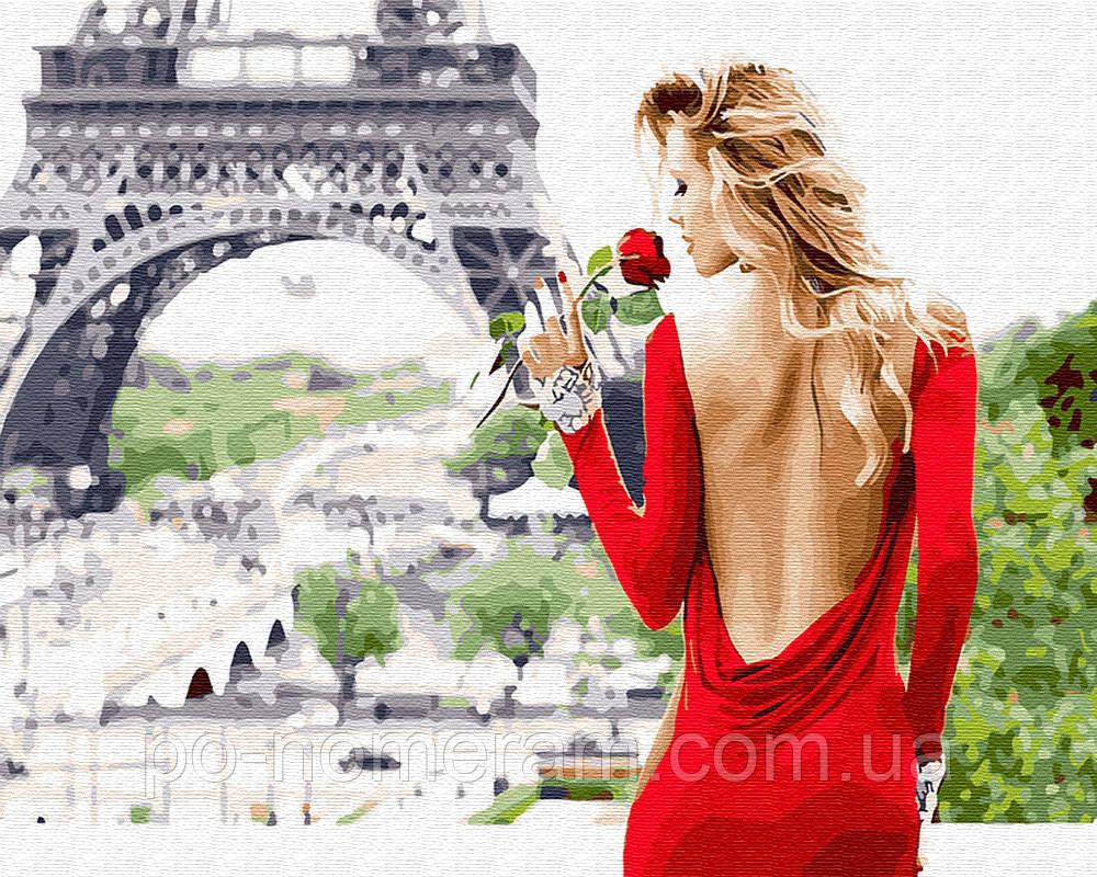 Раскраска для взрослых Аромат Парижа (BK-GX26444) 40 х 50 ...