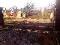 Ворота (брама) + фіртка