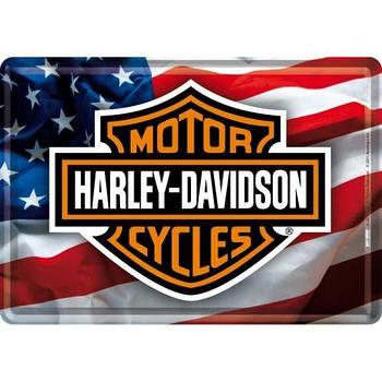 Открытка Nostalgic-Art Harley-Davidson (10120)