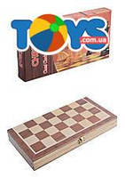 Комплект для игры 3 в 1 «Шашки - шахматы - нарды», S2416
