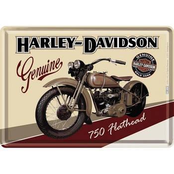 Открытка Nostalgic-Art Harley-Davidson Flathead (10122)