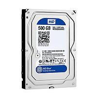 Жесткий диск Western Digital Blue 500GB 7200rpm 16MB SATAIII (WD5000AAKX) 3.5 Refurbished