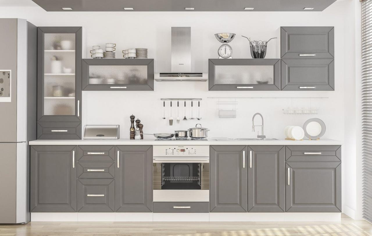 Кухня Мебель-Сервис «Гамма» (матовые фасады)