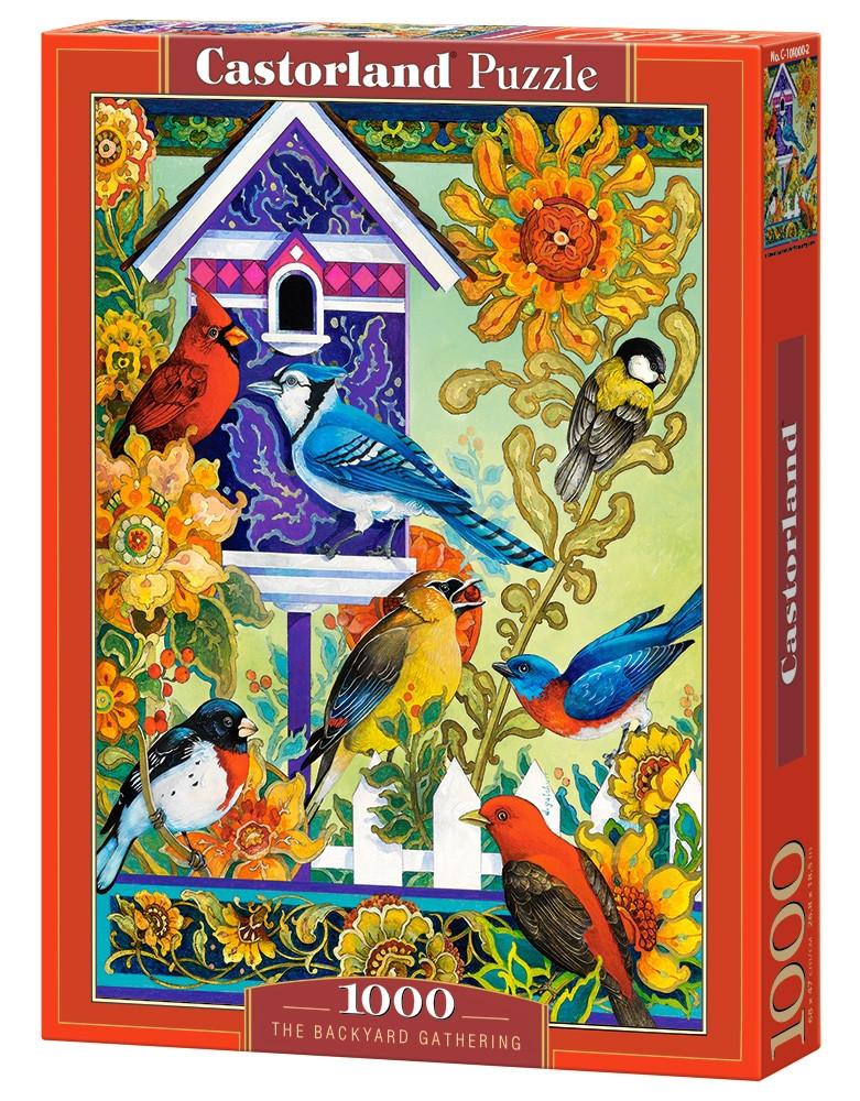Пазлы Castorland Птичий дом 1000 элементов