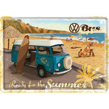 Открытка Nostalgic-Art VW Bulli - Ready For The Summer (10172)
