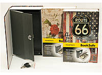 Книга-сейф на ключе (240х155х55 мм) Большая. Домашний мини-тайник., фото 1
