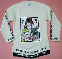 Красивый свитер  для девочки на 10 - 11  лет