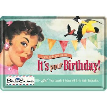 Открытка Nostalgic-Art Its Your Birthday (10185)