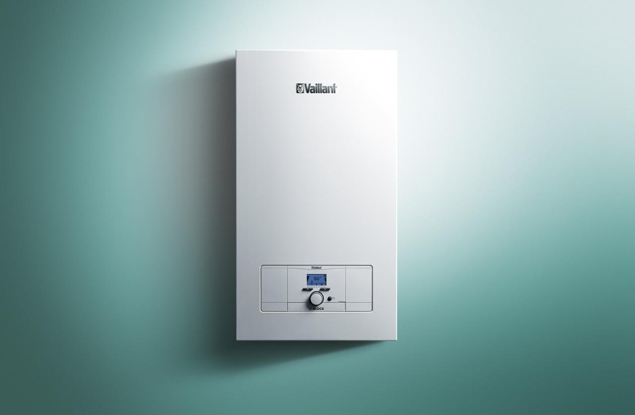 Настенный электрический котел Vaillant мощностью 9 кВт eloBLOCK