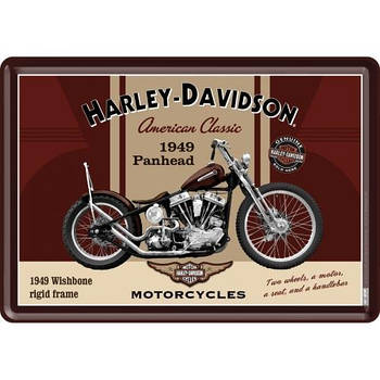 Открытка Nostalgic-Art Harley-Davidson Classic (10198)