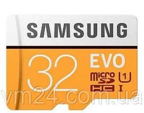 Карта памяти Samsung microSD 32GB EVO Plus UHS-I Class 10