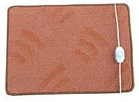 Коврик с подогревом, электрический коврик 54х36 см Гарантия 1 год, фото 1