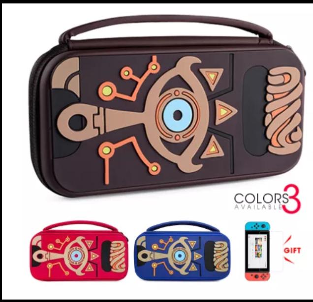 Чехол сумка Deluxe Zelda кейс для Nintendo Switch / + накладки и пленка в подарок /
