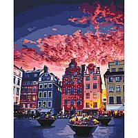 Картина по номерам Каникулы в Стокгольме
