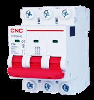 Модульний автоматичний вимикач YCB6Н-63, 3Р, 16А, 4,5kA, тип С