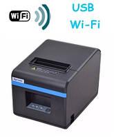 Чековый принтер с автообрезкой Xprinter XP-N160II (WiFI + USB)