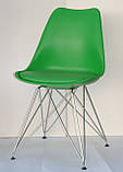 Стул Milan Chrom, зеленый, фото 2