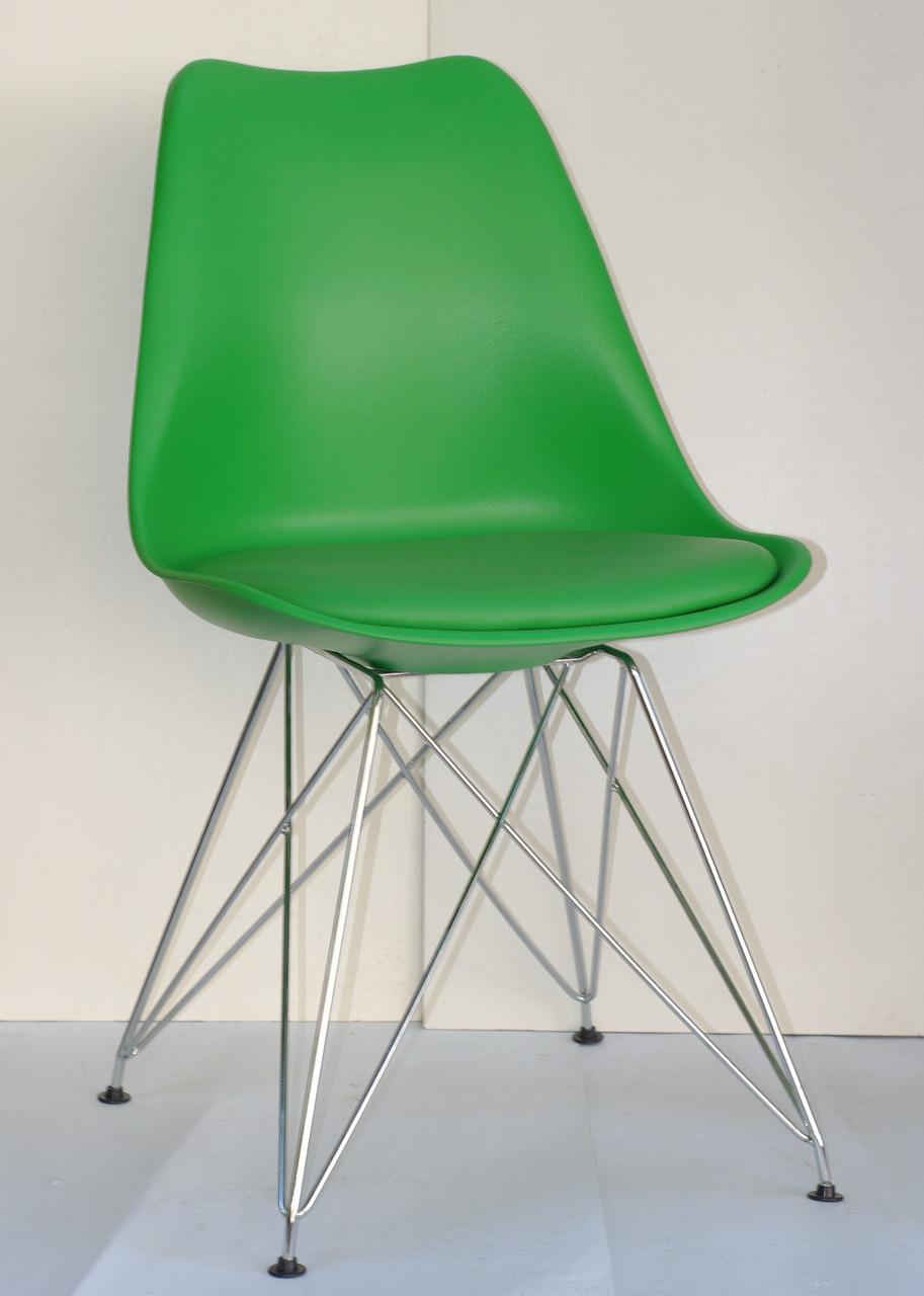 Стул Milan Chrom, зеленый