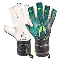 Вратарские перчатки Ho Soccer ESKUDO HYBRID ROLL NEG GREEN