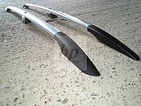 Рейлинги усиленные (с металлическими наконечниками) Geely MK-cross (Джили мк-кросс 2010г+)