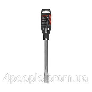Зубило Dnipro-M 14*250*20 мм Ultra SDS+ малое плоское, фото 2