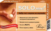 SOLO®  mini - набір з 5 тест-смужок для визначення овуляції + тест-смужка  для визначення вагітності