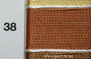 Швейная нить Gold Polydea 60 № 38 коричневый, фото 2