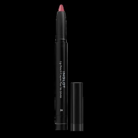 Помада-карандаш для губ AMC LIP PENCIL MATTE 24 з стругалкою