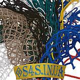 Сетка для ограждения спортивных площадок безузловая испанская, D – 4 мм, ячейка – 4,5 см, жёлтая, фото 2