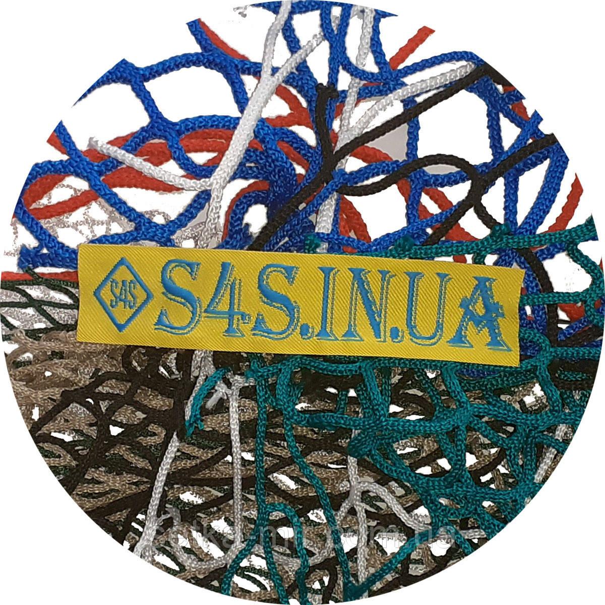 Сетка заградительная безузловая Испания, D – 4 мм, ячейка – 4,5 см, защитная, разделительно-защитная, чёрная